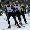 TDXC DUATHLON 2010 : The Sierra Nordic Duathlon at Tahoe Donner Cross Country, December 19, 2010. Just a nasty day of racing, tons of new snow, then turning to rain right before race time. Those are hardy folk out there!